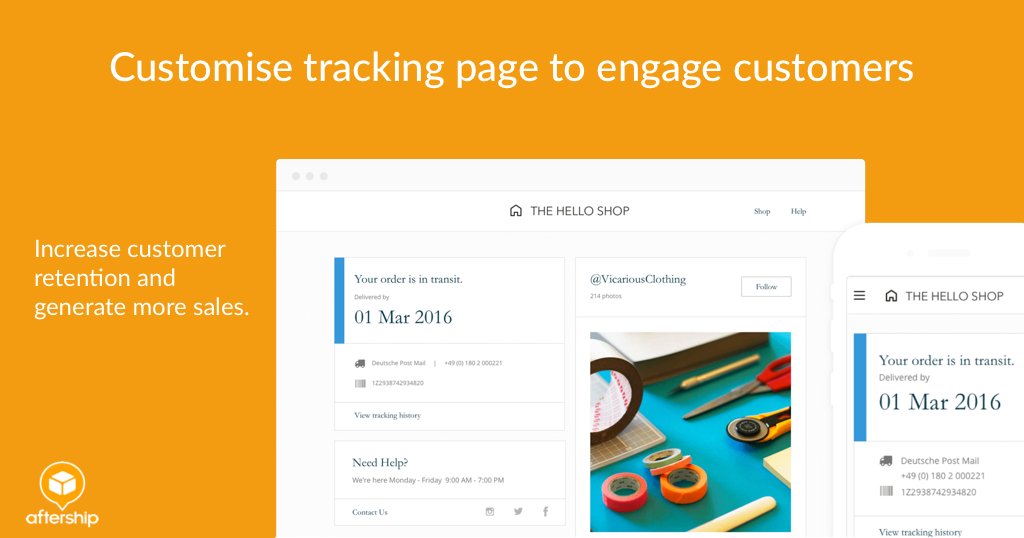 AfterShip: Tracking & Delivery Updates
