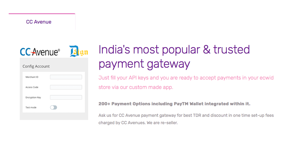 CC Avenue: India's largest Payment Gateway